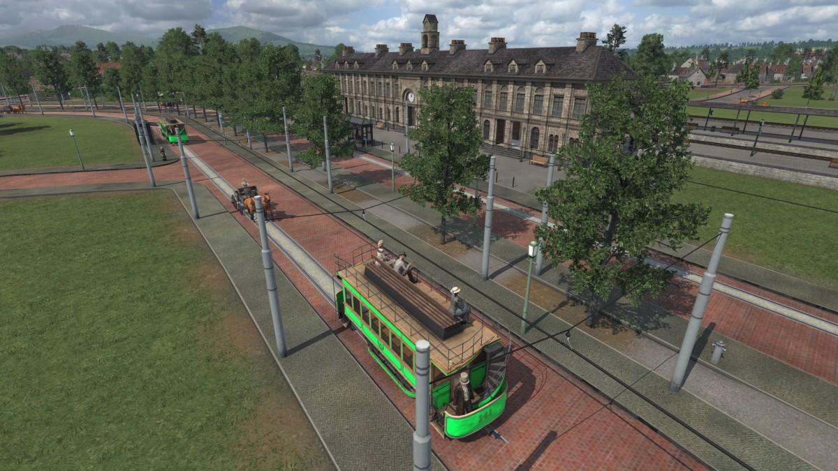 Der neue Hauptbahnhof und die erste elektrische Straßenbahn wurden zusammen eröffnet
