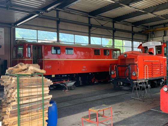 Werkstatt/Lokschuppen Bezau - 1