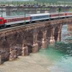 BR 110 DB Autozug in freier Wildbahn