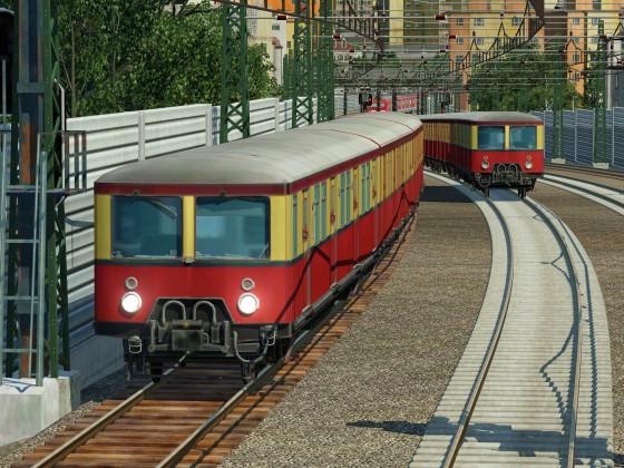Mit der S-Bahn durch die Stadt