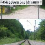 Station Giessenbachklamm der Wachtlbahn