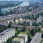 Stadtrand Salzberg
