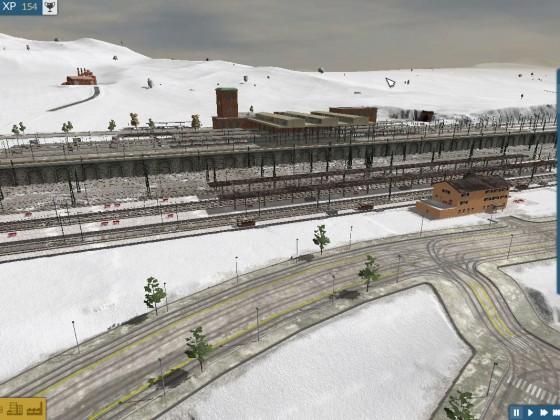 Mega Hauptbahnhof (10 benutzbare Gleis)