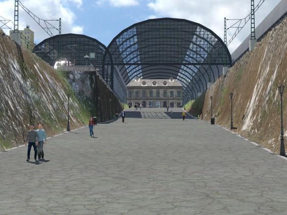 Hanse Zentralbahnhof