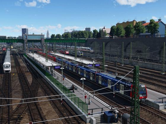 S-Bahn-Station Steinhausen
