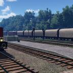 Bahnsteig Früher