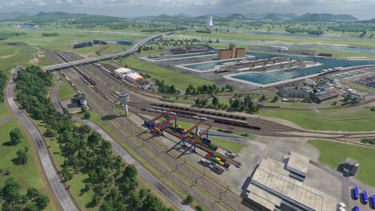 Baufortschritt Binnenhafen