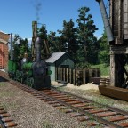 Tiny American steam depot #3
