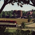 GP7 crossing the fabulous farm
