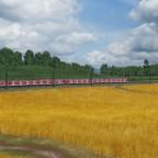 Mit der S-Bahn übers Land ...
