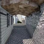 Durchsicht durch das Törli von der Klösterliseite her in Richtung Schmidgasse.