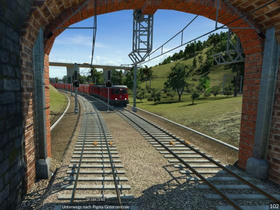Tunnelausfahrt