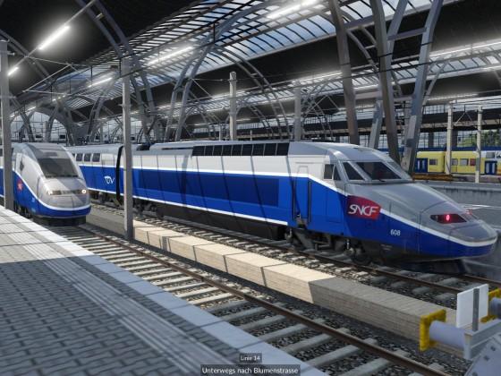 TGV Treffen im HBF
