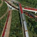 Einfahrt Rangierbereich & Containerterminal