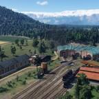 Train depot, USA 1850s #1