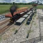 03 Der Nachschub kommt per Zug