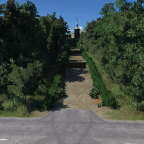 Road to the church