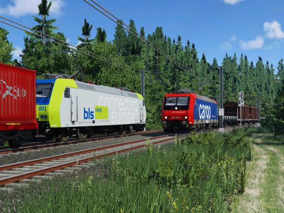 [TpF 1] Trainspotting im Wald