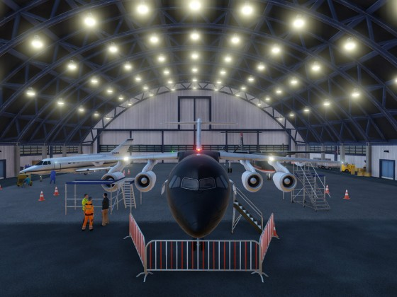 Chartered Aviation Hangar