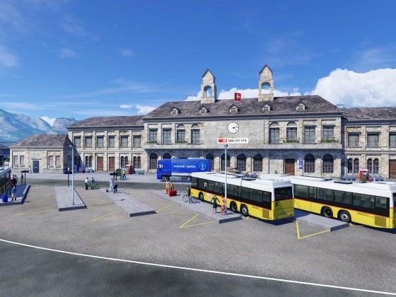 Bahnhof Thun WIP (September 2021)