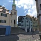Aargauer Platz Richtung  Kirchplatz