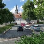 Leuen Parkplatz