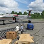 Boarding am Regionalflugplatz 2