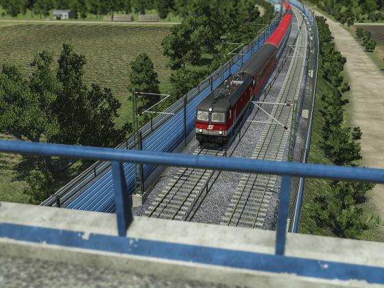 1144 mit EC auf der Westbahn