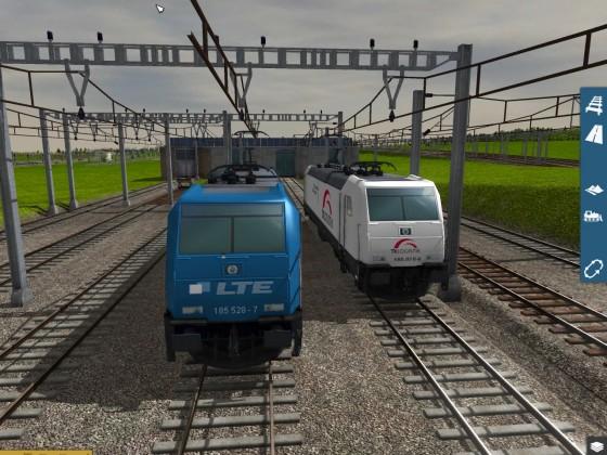 BR 185 LTE & TX Logistik