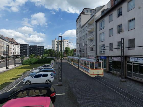 """Repaintprojekt fiktive Rathgeber-/""""Hansa""""-Wagen"""