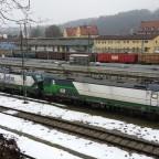 Hbf Passau - Vectron Doppeltraktion