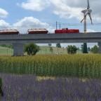 Impressionen entlang der Güterstrecke
