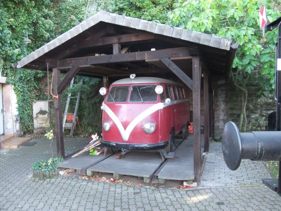 """""""Sonderfahrzeug"""" Eisenbahnmuseum Neustadt/Weinstrasse"""