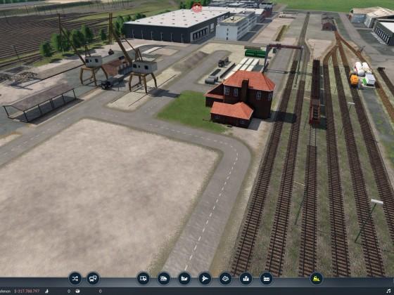 Alter Güterbahnhof Überblick @Altenwerder
