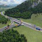 Autobahnkreuz Schwalbenberg-Klippenfels