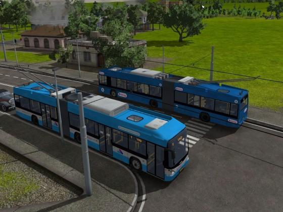 Trolleybus der Novio
