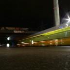 Alexanderplatz bei Nacht