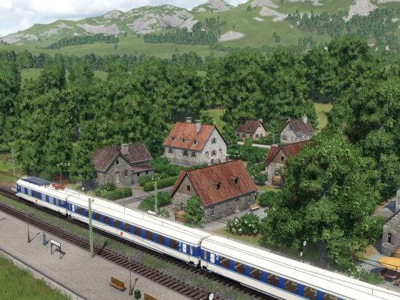 Transalpin am Weg in die Alpen