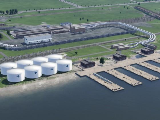 Industriehafen und Güterbahnhof