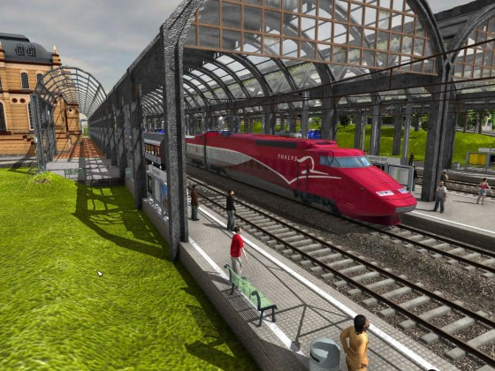 Eröffnung der neuen Ittigener Bahn, jetzt Golden Pass