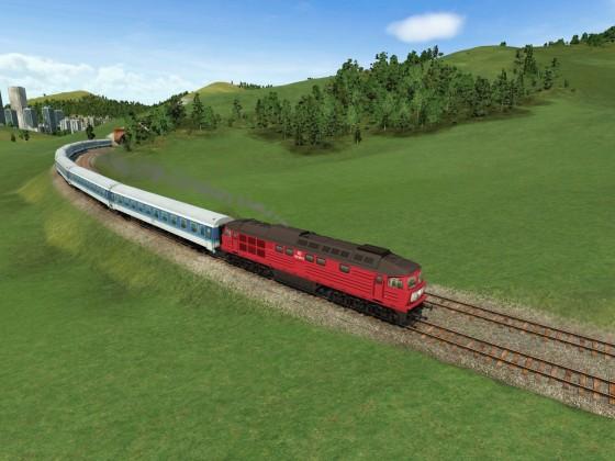 InterRegio auf nicht elektrifizierter Bergstrecke 1