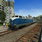 Dauerhafte Testlokomotive