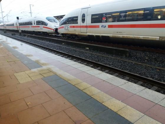 ICE International der Nederlandse Spoorwegen