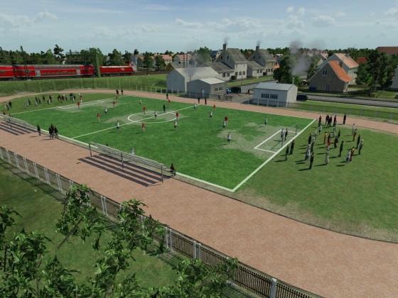 Testspiel in Hattersby