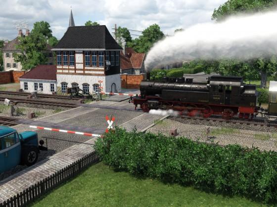 Bü Bahnhof Dittersdorf