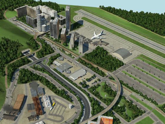 Flughafen-Viertel beendet