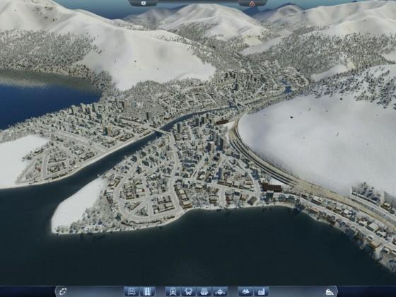 Snowy Mega City