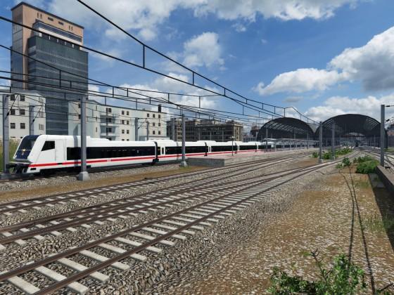 Testfahrt in der Schweiz mit dem ECx