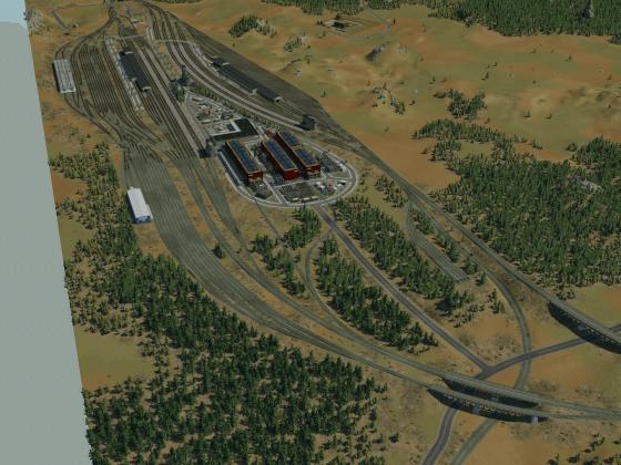 American Train Yard 2.0