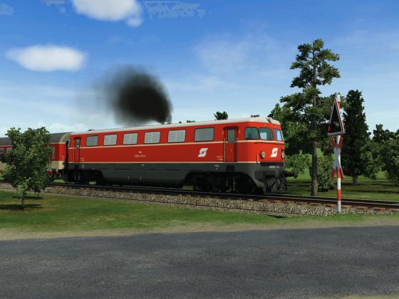 2050er mit Regionalzug